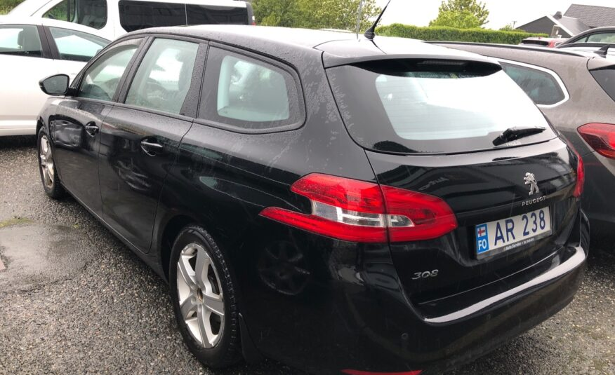 2015 Peugeot 308 SW Active 1.6 HDI